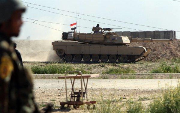 Иракские войска продолжают наступление на Мосул.