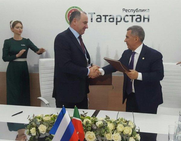 Рашид Темрезов и Рустам Минниханов.