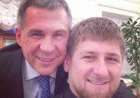 Рамзан Кадыров поздравил Рустама Минниханова с юбилеем