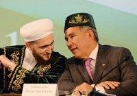 Муфтий РТ поздравил Рустама Минниханова с юбилеем