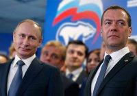 Путин и Медведев поздравили Рустама Минниханова с юбилеем
