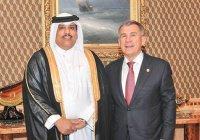 Рустам Минниханов встретился с главой международной федерации скачек на арабских лошадях