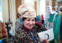 Московские татарки отметили 8 марта «Праздником калфака»