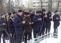 Студенты Казанского исламского университета посетили могилы татарских богословов