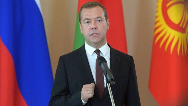 Медведев пригласил глав государств ЕврАзЭС в Казань.