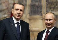 Песков: «Путин и Эрдоган обсудят общие мегапроекты»