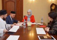 Муфтий Татарстана обсудил с Наталией Фишман новый социальный проект