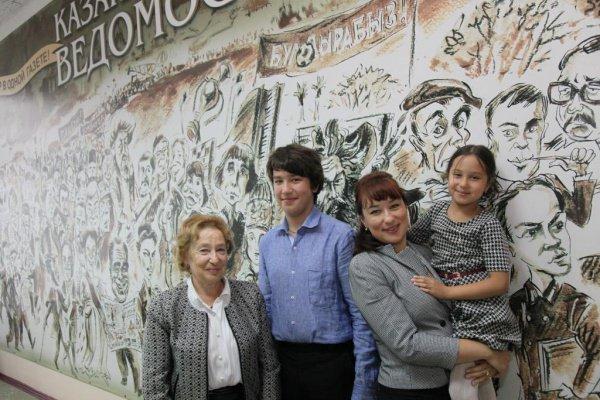 Дочь Мусы Джалиля Чулпан Мусаевна, внучка Татьяна Малышева, правнук и правнучка поэта в Казани.