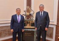 Рустам Минниханов встретился с хокимом Самаркандской области