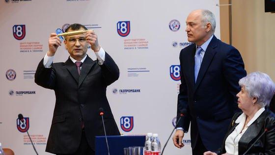 Рашид Нургалиев на открытии Центра Тихонова.