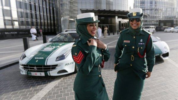 Сотрудницы туристической полиции Дубая.