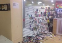 Неизвестные напали на торговый центр в Казани