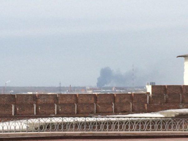 Пожар в Казани.