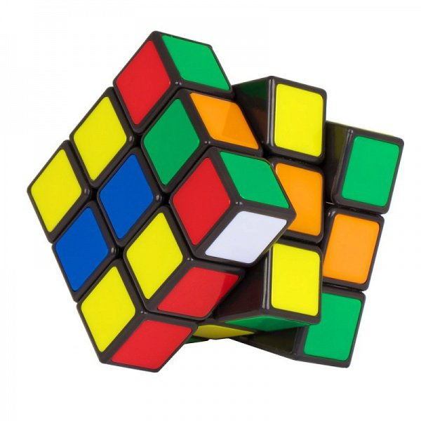 Кубик Рубика собирали на скорость.