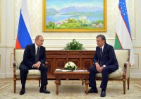 Путин поздравил президента Узбекистана с 25-летием дипломатических отношений