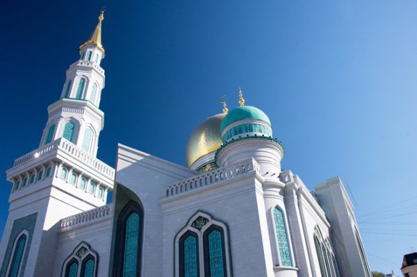 Фестиваль Корана в Московской соборной мечети.