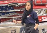 Пожарный в хиджабе покорила социальные сети