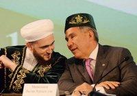 Рустам Минниханов поздравил муфтия РТ с днем рождения