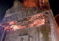 Мечеть XV века пострадала от пожара в Греции