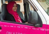 """В Пакистане появилось """"розовое такси"""" для женщин"""