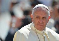 Папа Римский: миграционный кризис – крупнейшая трагедия после Второй мировой войны
