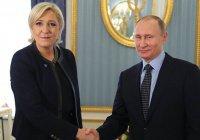 Путин и Ле Пен обсудили совместную борьбу с терроризмом