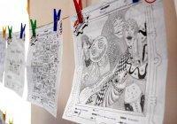 Любители рисовать на занятиях участвуют в международном конкурсе «дудлинга»
