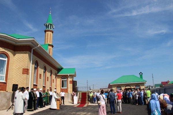 Мечеть открылась в августе 2016 года.