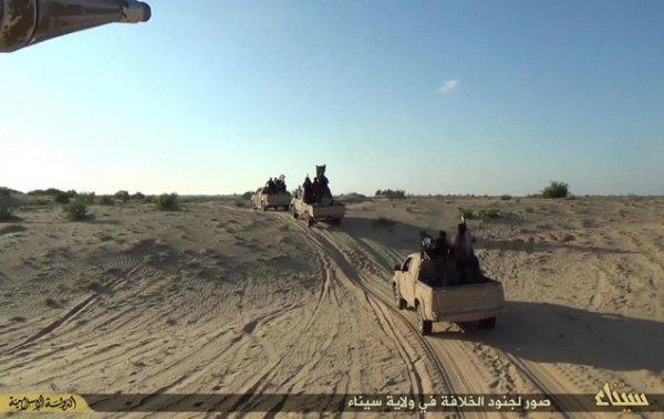 В последние месяцы ИГИЛ на Синае заметно активизировалось.