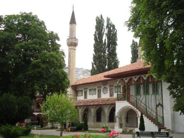 Мечеть Биюк Хан Джами. Бахчисарай, Крым.