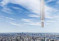 В Дубае появится висящий над землей небоскреб