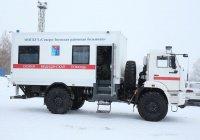 КАМАЗ разработал «скорую» для тяжелых климатических условий