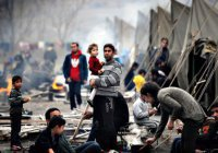 Количество сирийских беженцев на Ближнем Востоке перевалило за 5 млн человек