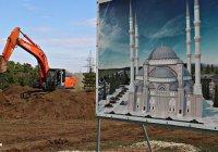 Строительство Соборной мечети Крыма идет с опережением на месяц
