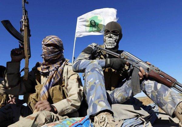 Боевики ИГИЛ в Сирии.