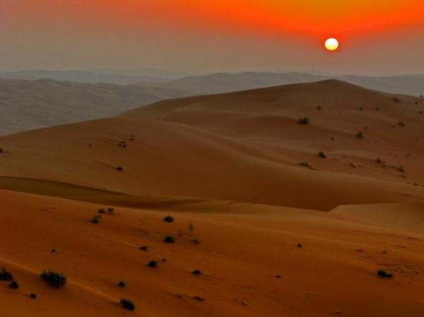 Пустыня Руб эль-Хали