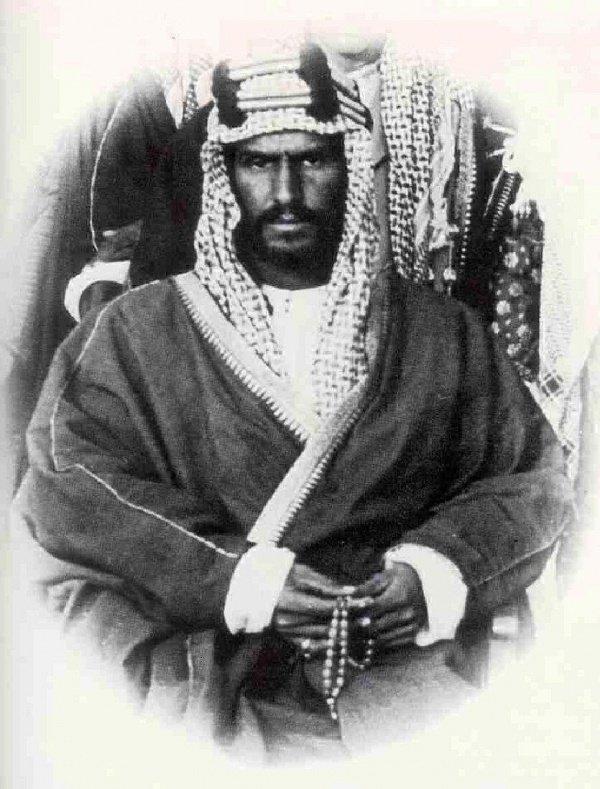 Король Абдул-Азиз ибн Сауд (1875-1953)