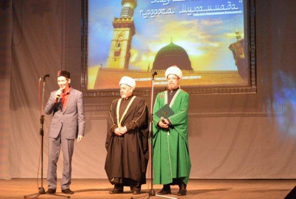 Главы трех духовных управлений, действующих на территории Тюменской области на праздновании Мавлид ан-Наби