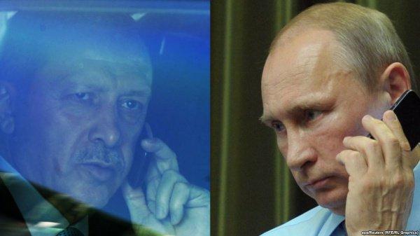 Путин иЭрдоган провели телефонный разговор всвязи совзрывом вПетербурге