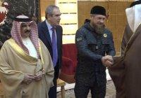 Рамзан Кадыров встретился с королем Бахрейна