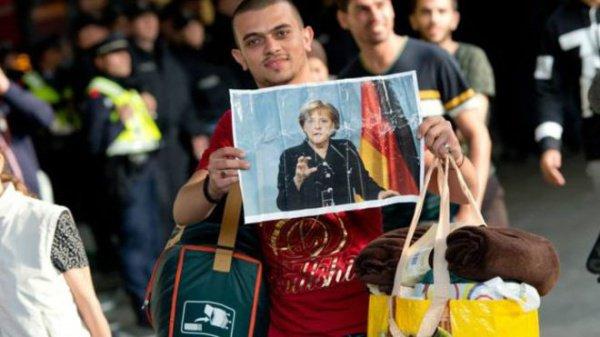 В Германию прибыли больше миллиона сирийцев.