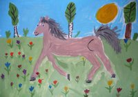 «Татнефть» проводит детский конкурс «Лошадь и я»