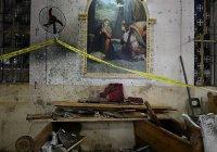 Взрыв в египетском храме транслировался в прямом эфире (Видео)