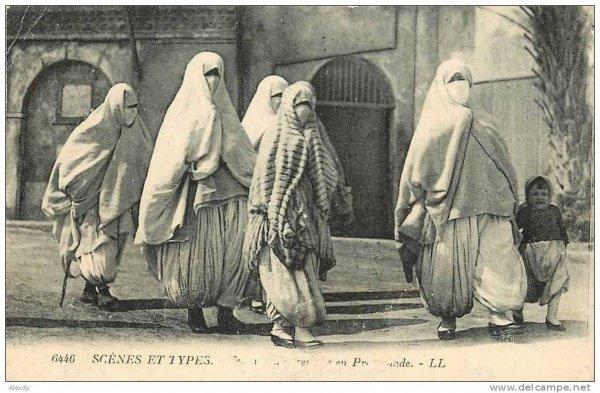 Открытка «Муришки – арабки Северной Африки».