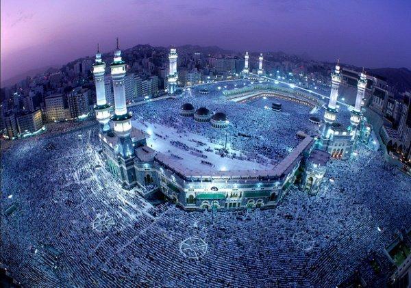 Запретная мечеть в Мекке