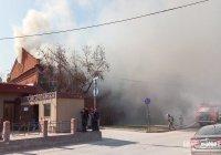 В Казани горит памятник архитектуры XIX века (Фото)