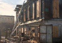 Еще одно историческое здание сгорело в центре Казани
