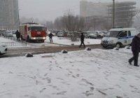 В Петербурге сработало взрывное устройство (Фото 18+)