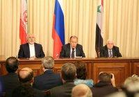 Лавров: Москва, Тегеран и Дамаск расценивают удар США по Сирии как акт агрессии