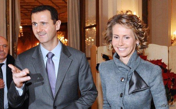 Башар и Асма Асад.